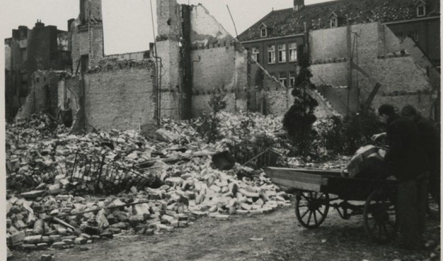 Huis gebombardeerd