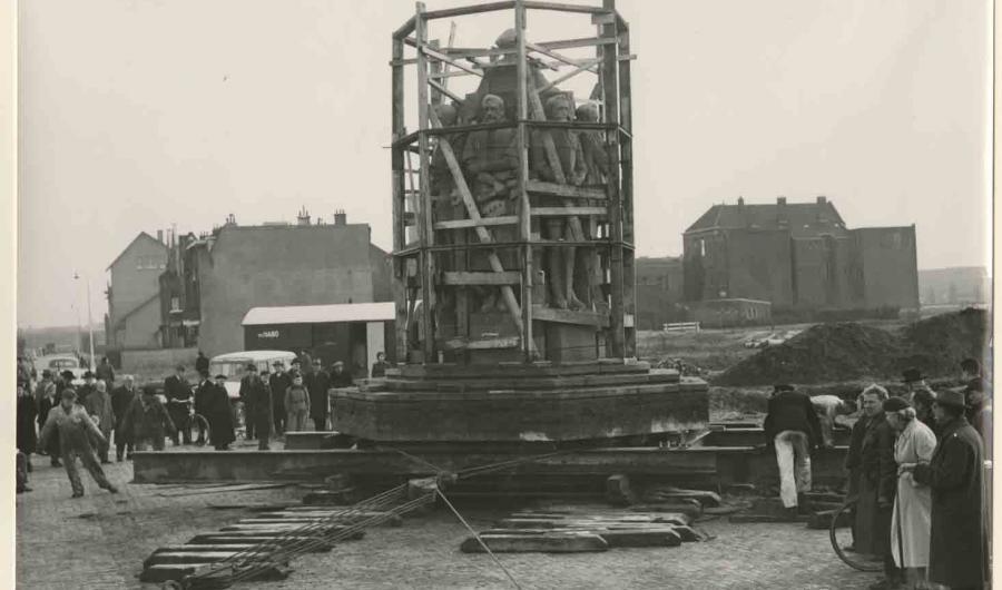 Verplaatsing monument