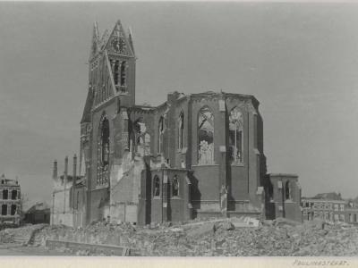 Mary Regensburg-Knijnenburg priecies 7 jaar geworden op 3 maart 1945